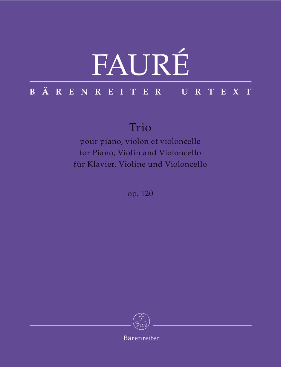 Fauré: Piano Trio in D Minor, Op. 120, N 194