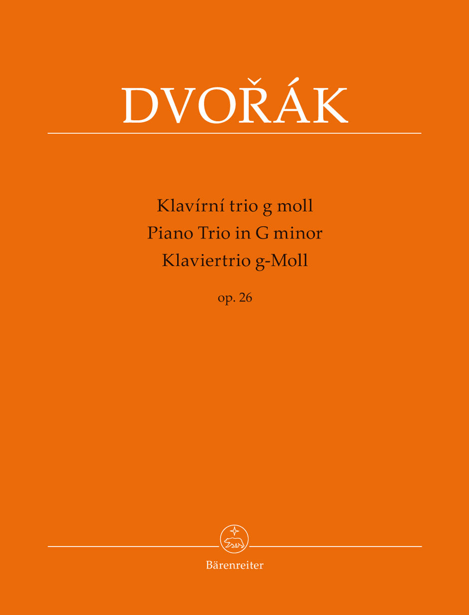 Dvořák: Piano Trio in G Minor, Op. 26
