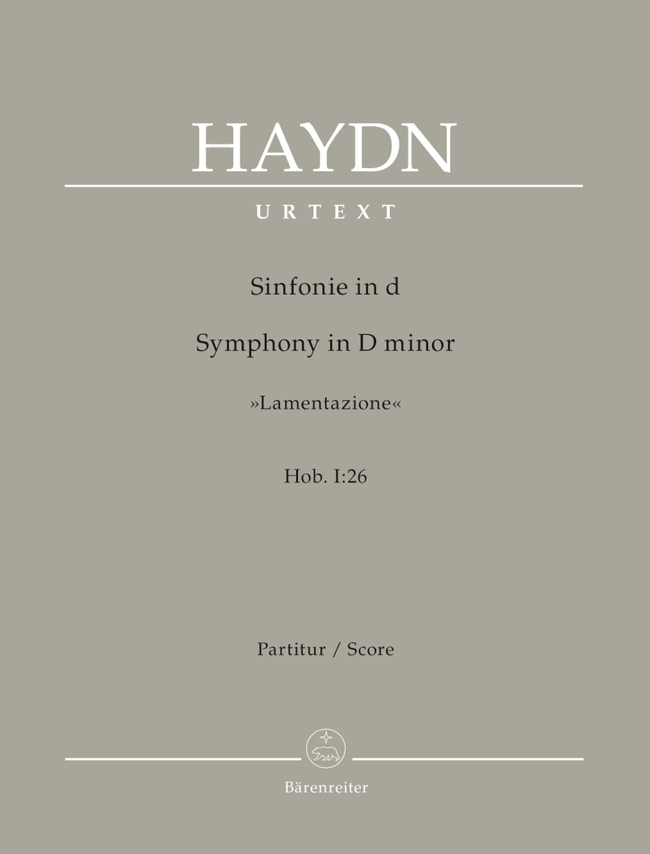 Haydn: Symphony in D Minor, Hob. I:26
