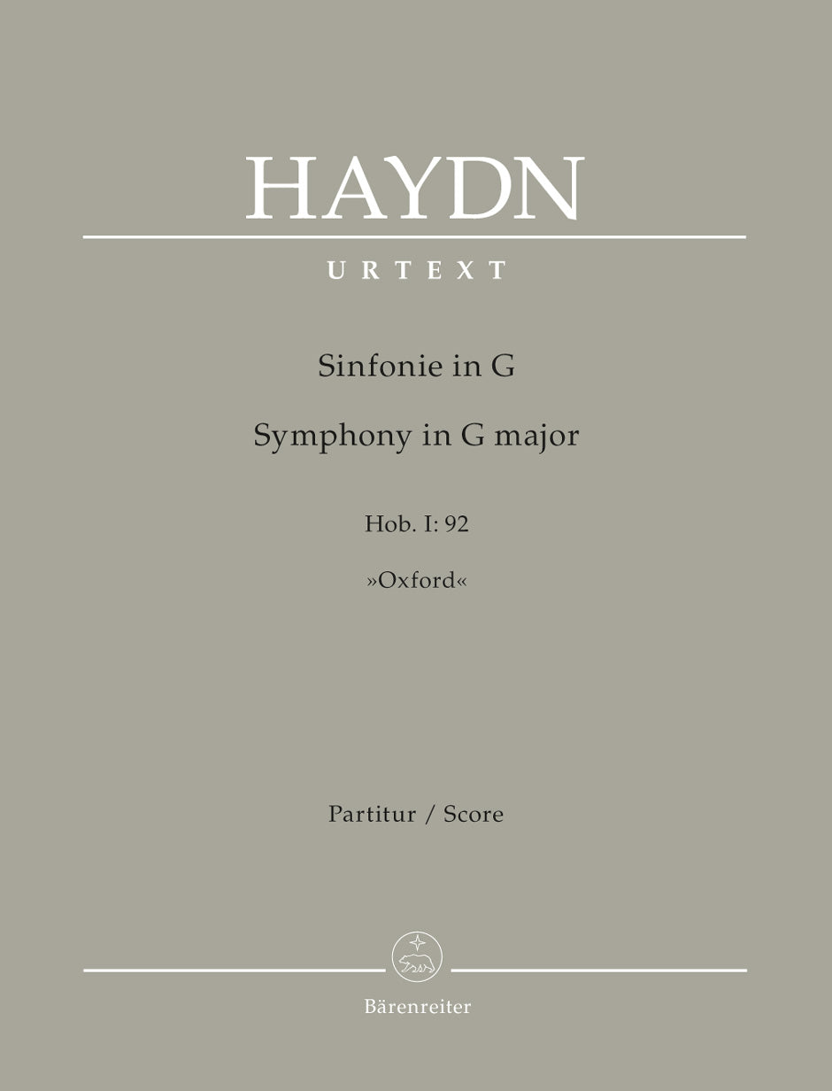 Haydn: Symphony in G Major, Hob. I:92