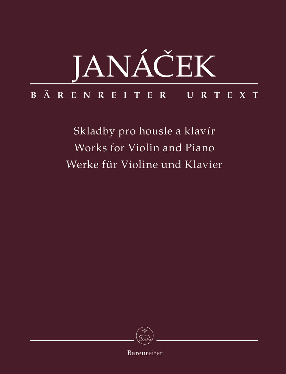 Janáček: Works for Violin and Piano