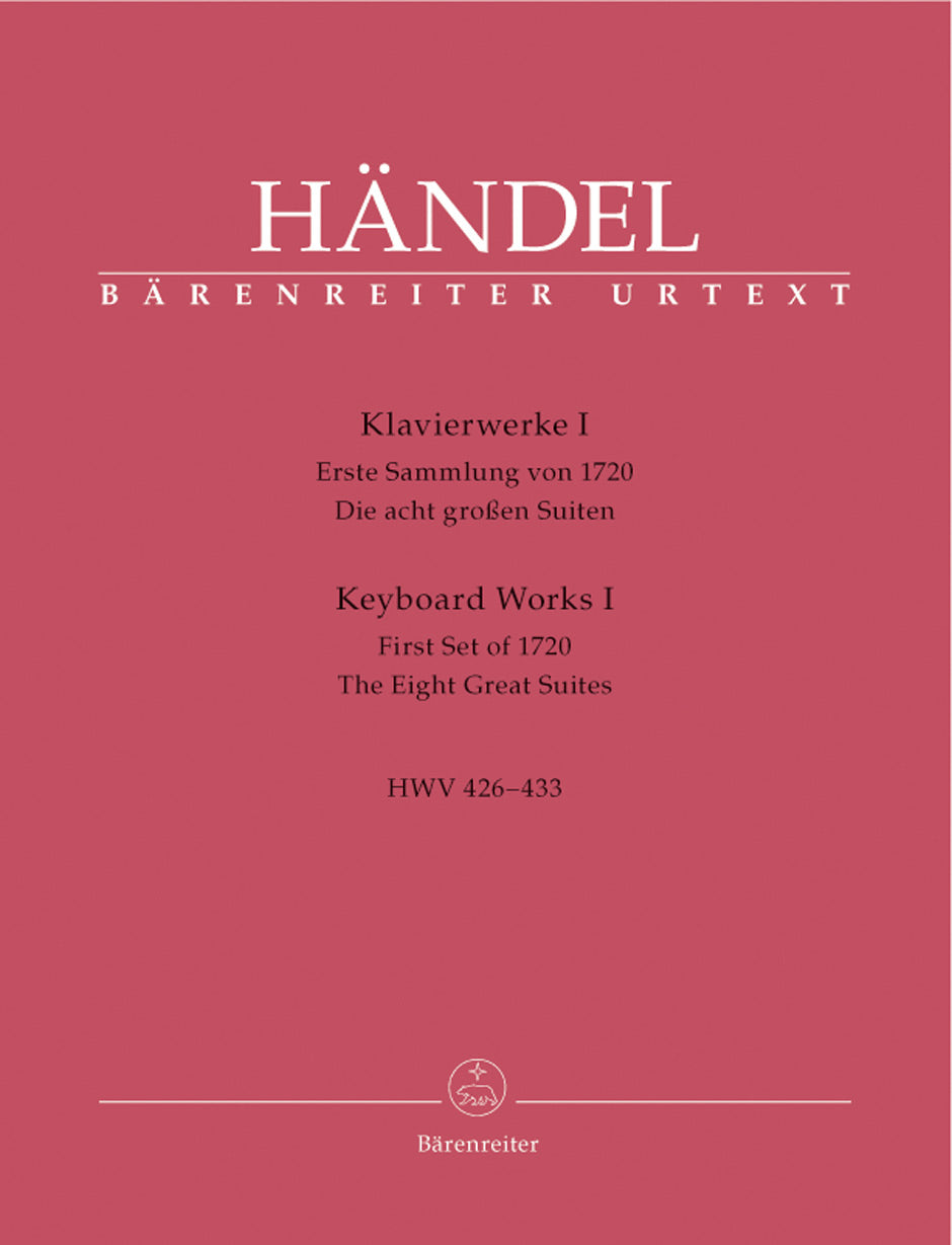Handel: Keyboard Works - Volume 1 (HWV 426-433)