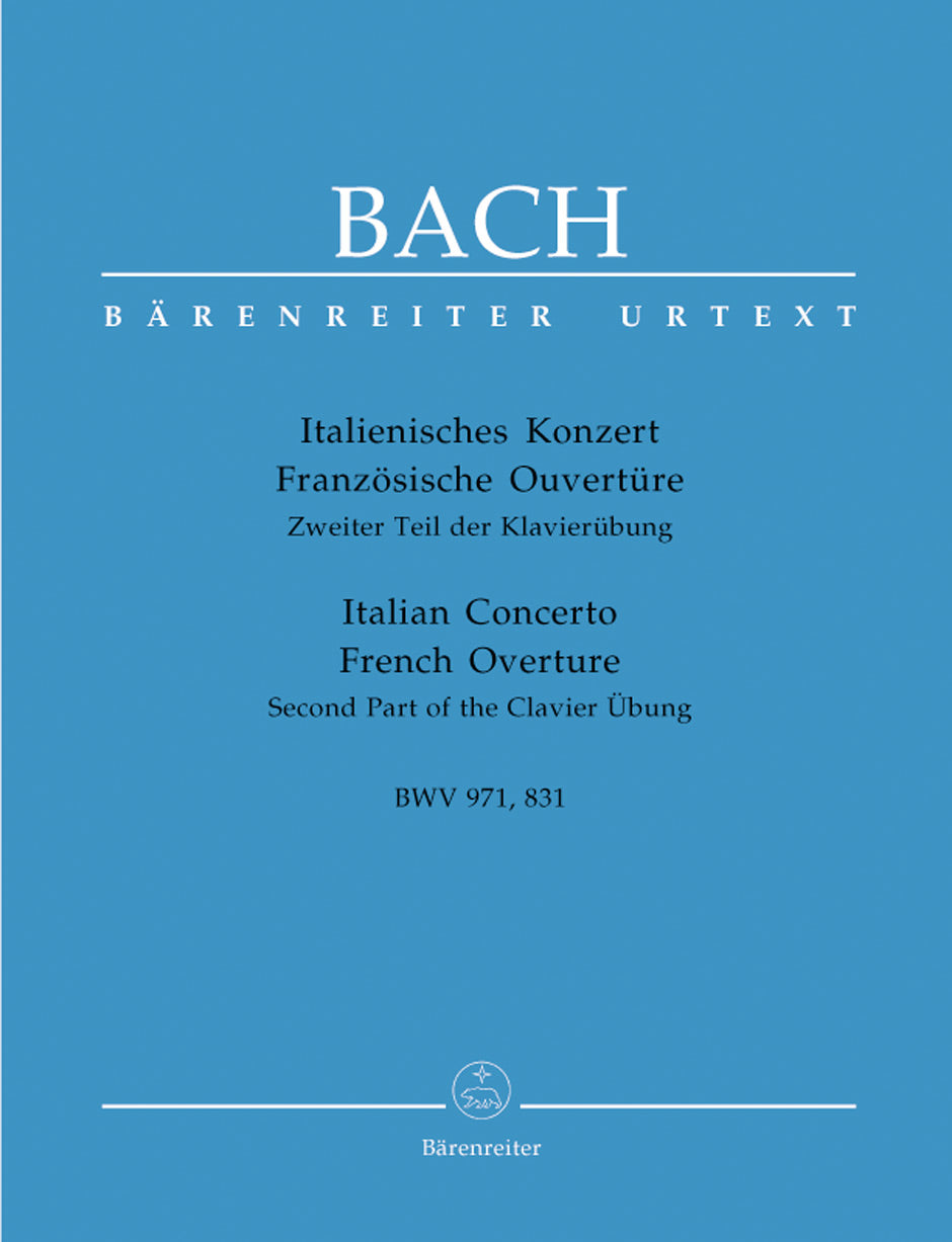 Bach: Italian Concerto, BWV 971 and French Overture, BWV 831