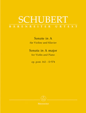 Schubert: Violin Sonata in A Major, Op. posth. 162, D 574