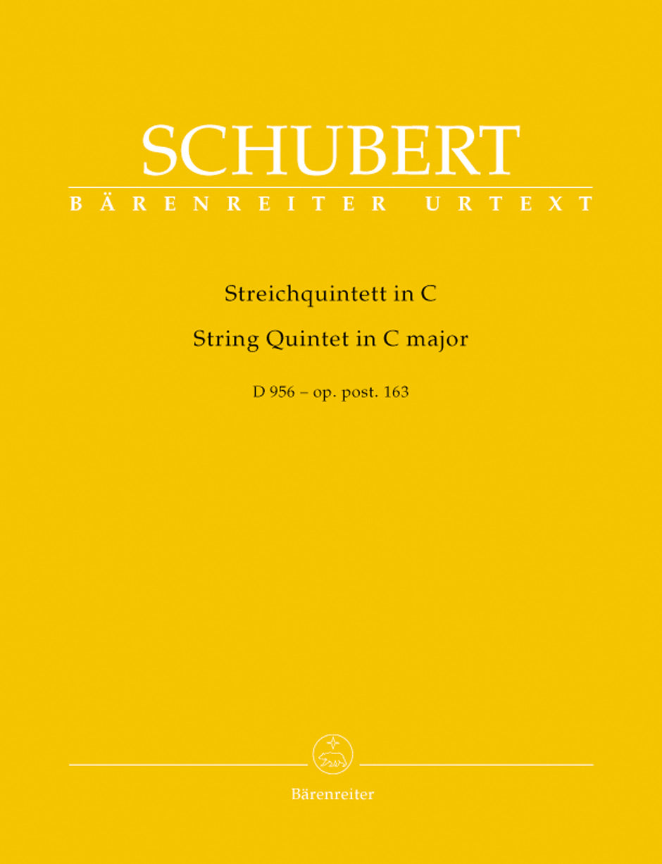 Schubert: String Quintet in C Major, Op. posth. 163, D 956
