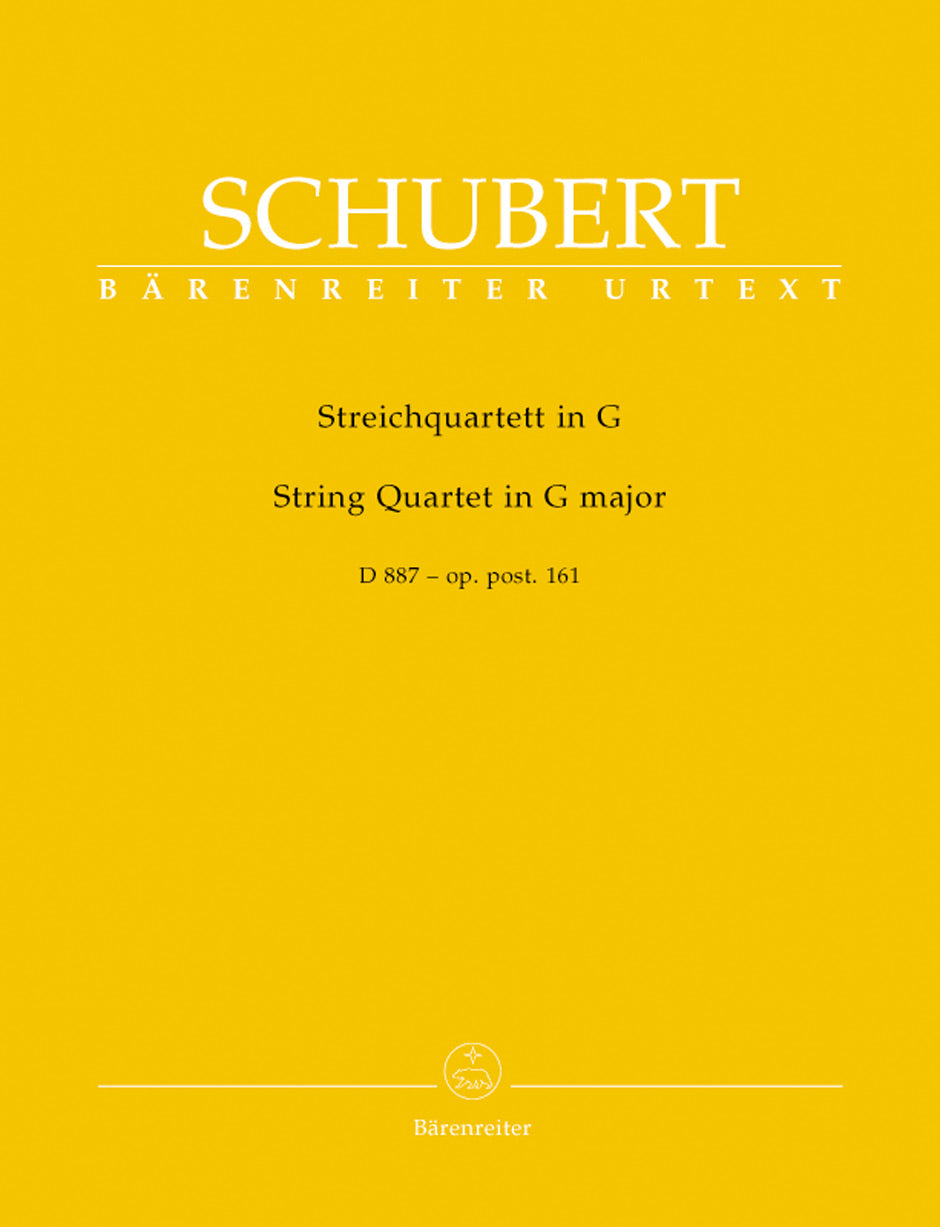 Schubert: String Quartet in G Major, Op. post. 161, D 887