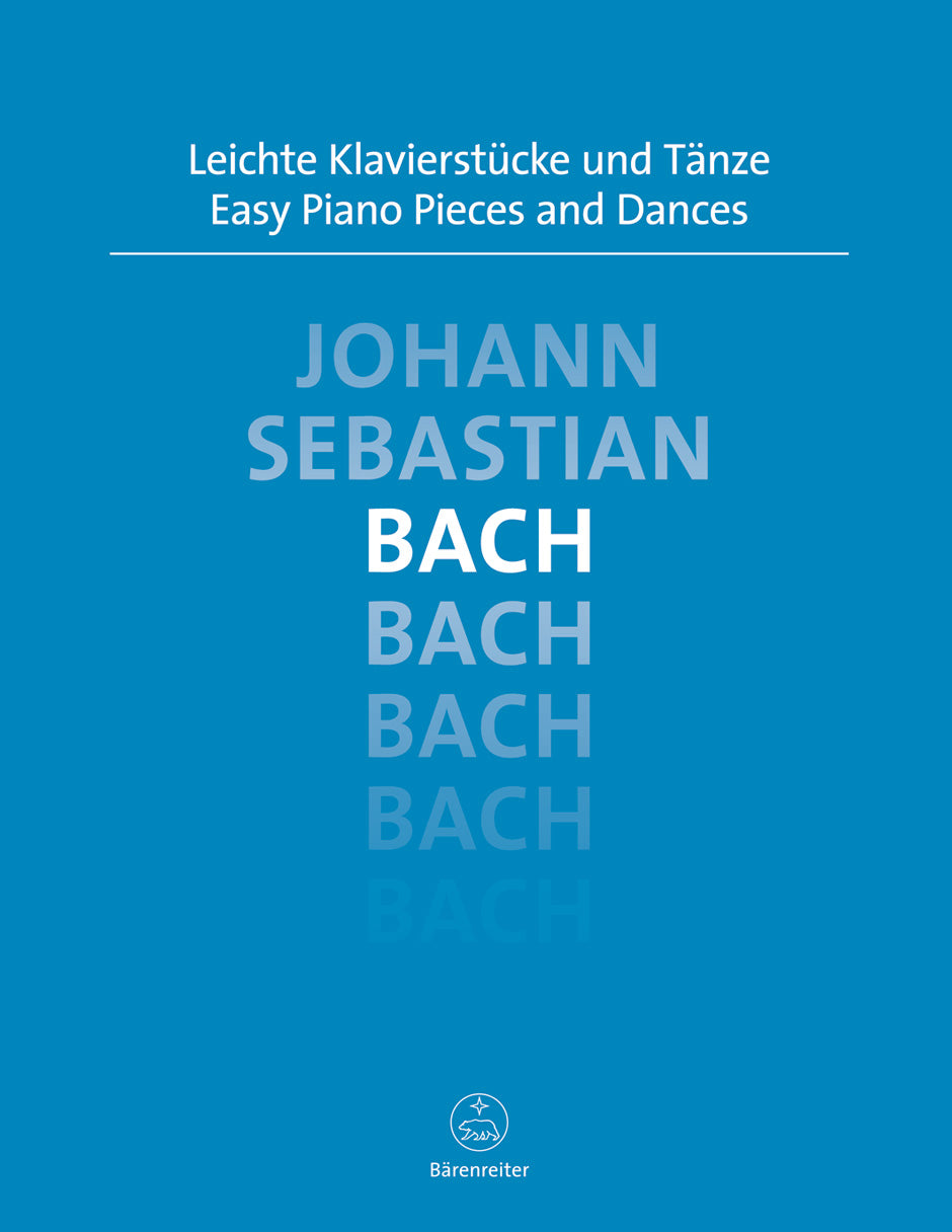 Bach: Easy Piano Pieces and Dances