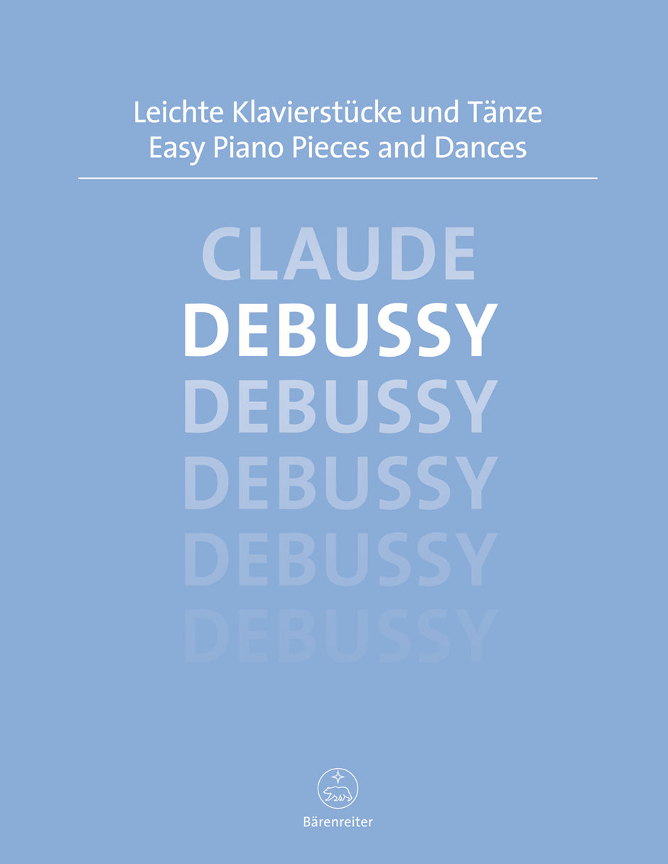 Debussy: Easy Piano Pieces and Dances