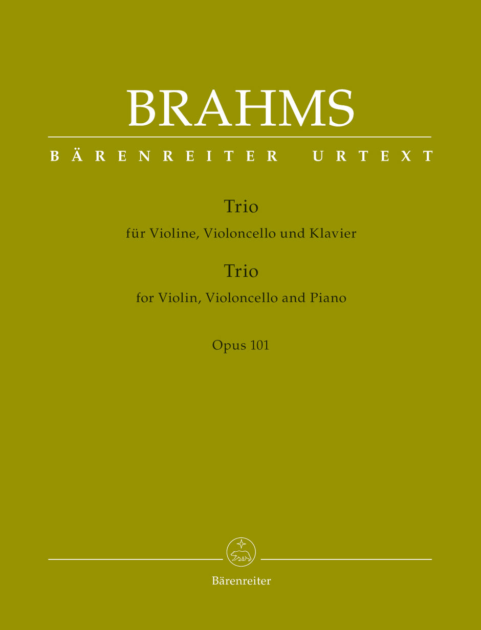 Brahms: Piano Trio in C Minor, Op. 101