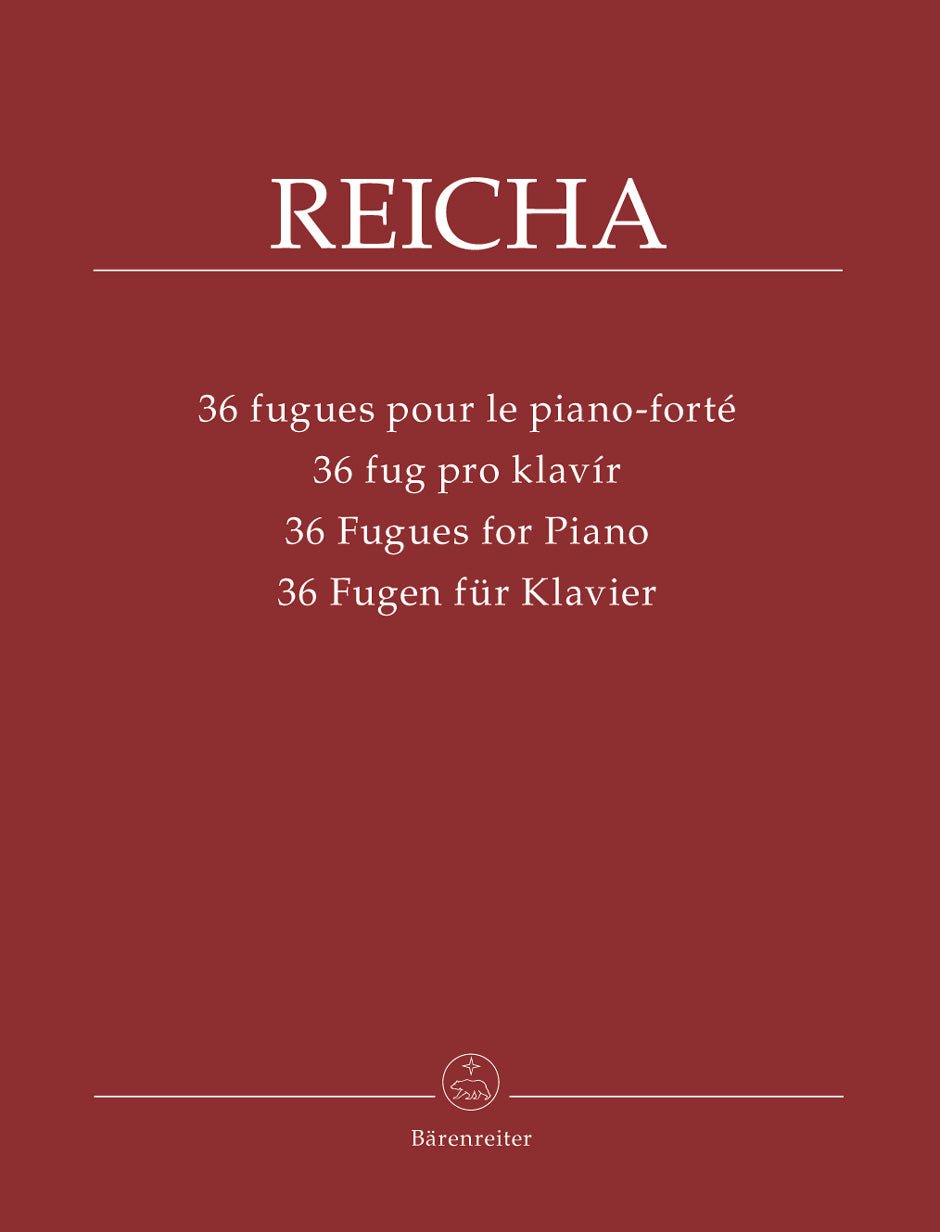 Reicha: 36 Fugues for Piano