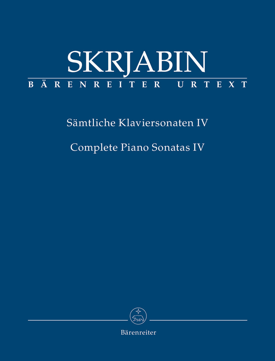 Scriabin: Piano Sonatas - Volume 4