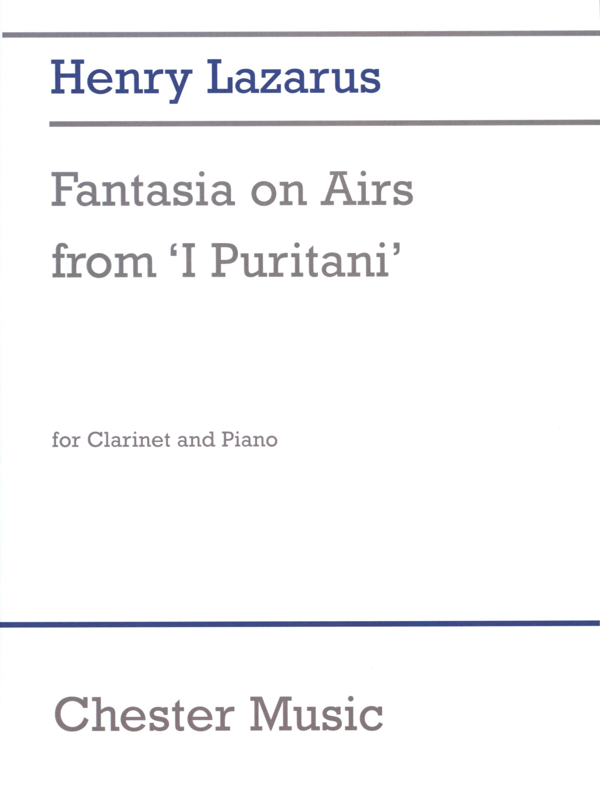 Lazarus: Fantasia on Airs from 'I Puritani'