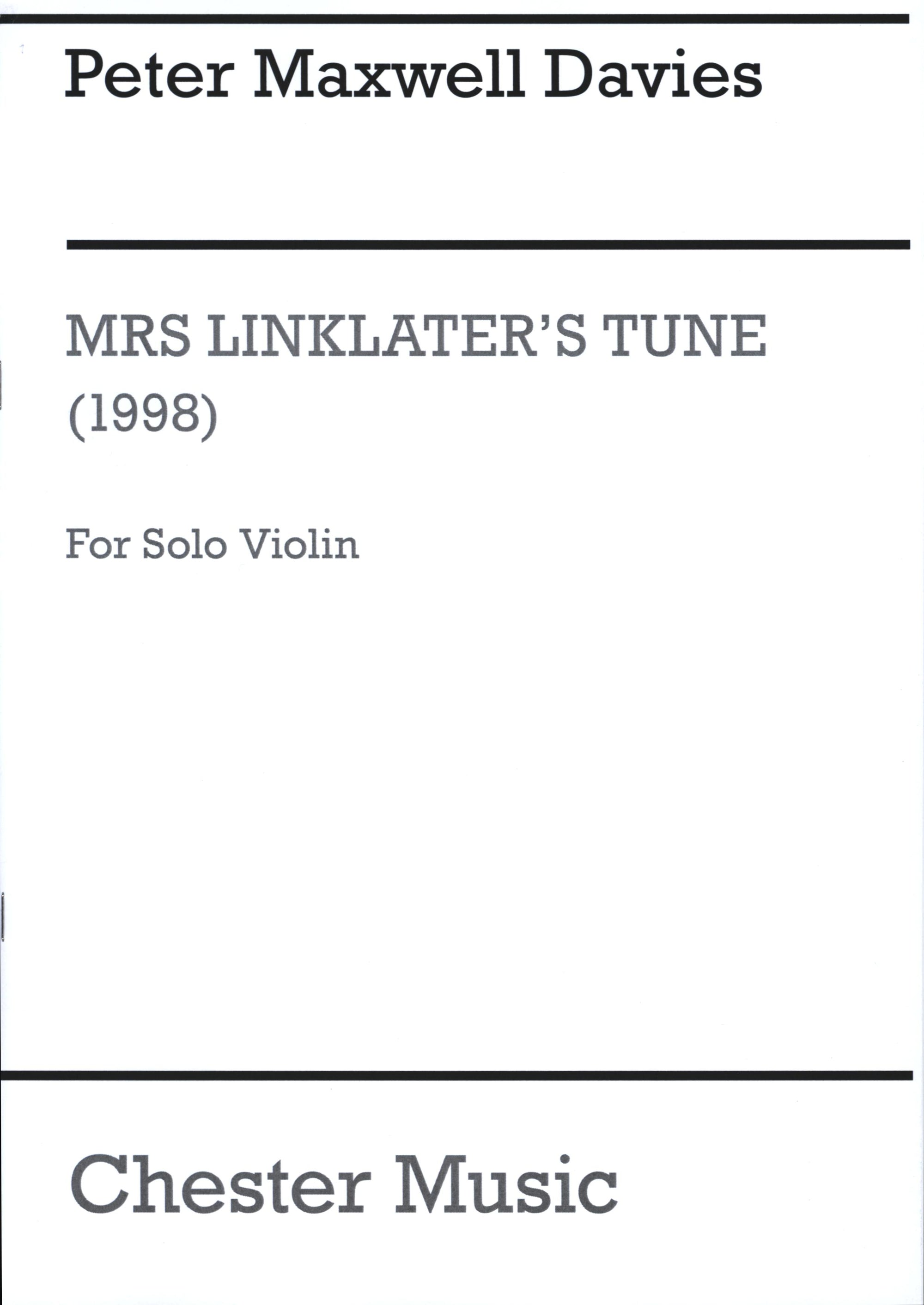 Davies: Mrs. Linklater's Tune
