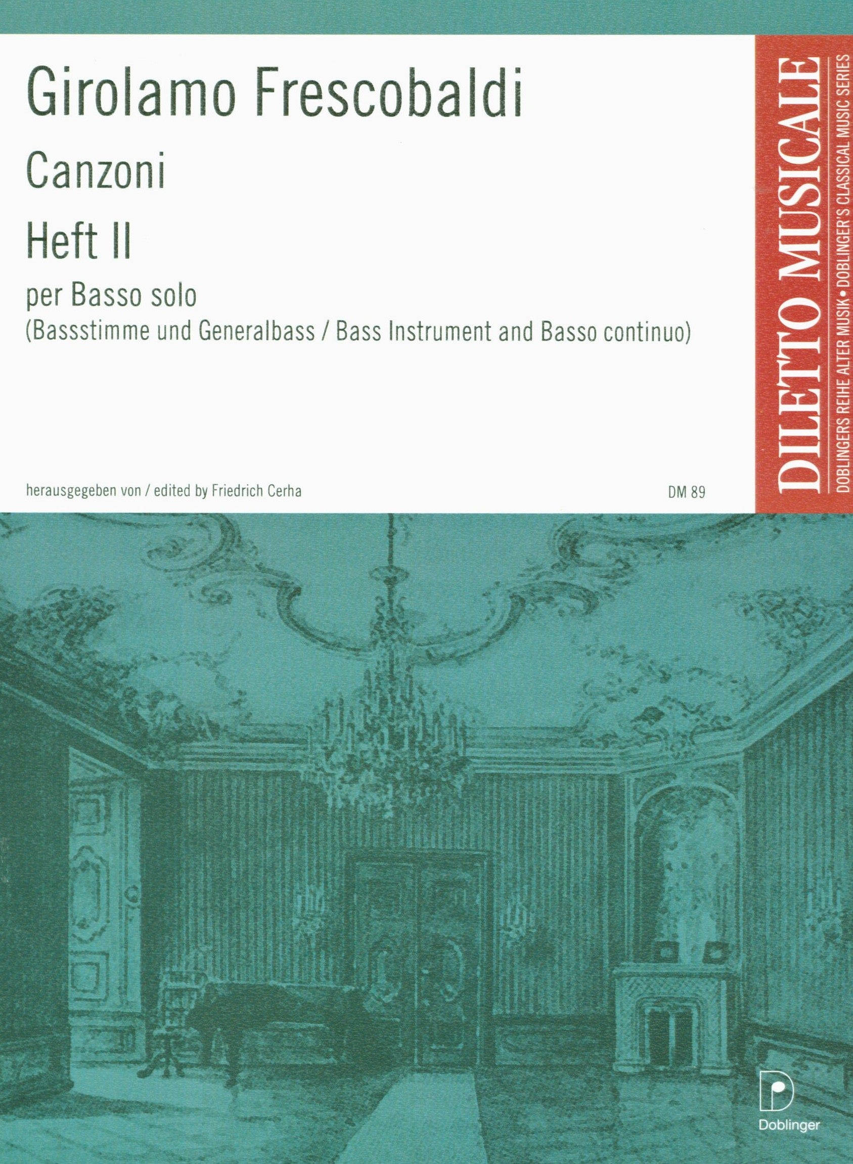 Frescobaldi: Canzoni for Solo Bass Instrument & Continuo - Volume 2