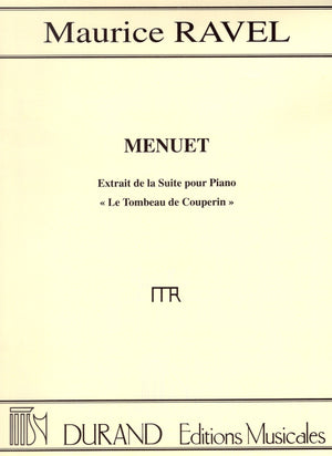 Ravel: Menuet (from Le Tombeau de Couperin)
