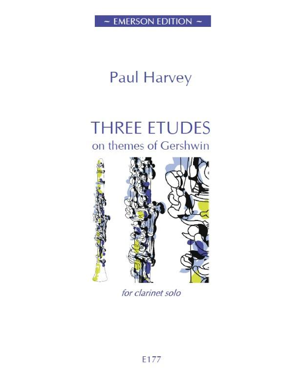 Harvey: Three Etudes On Themes Of Gershwin