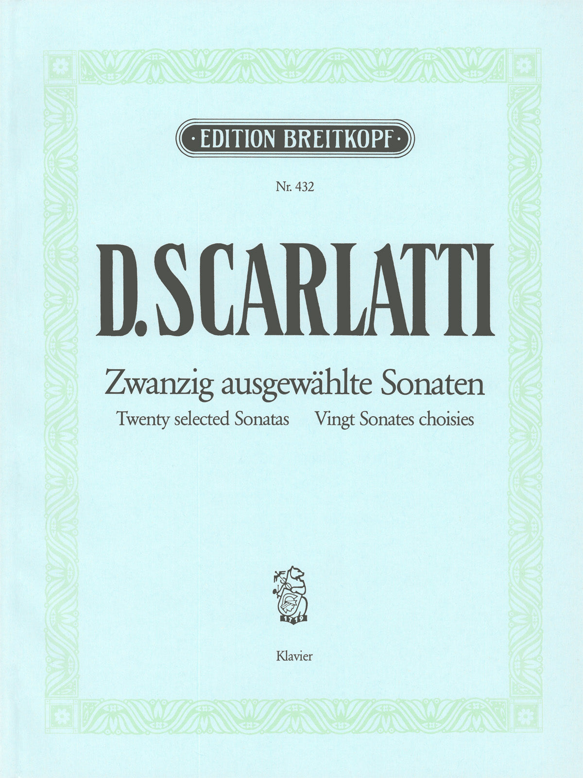 Scarlatti: 20 Selected Sonatas