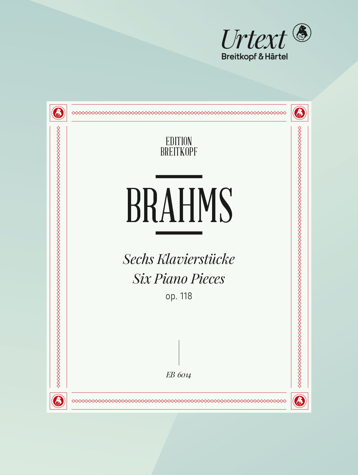 Brahms: Piano Pieces, Op. 118