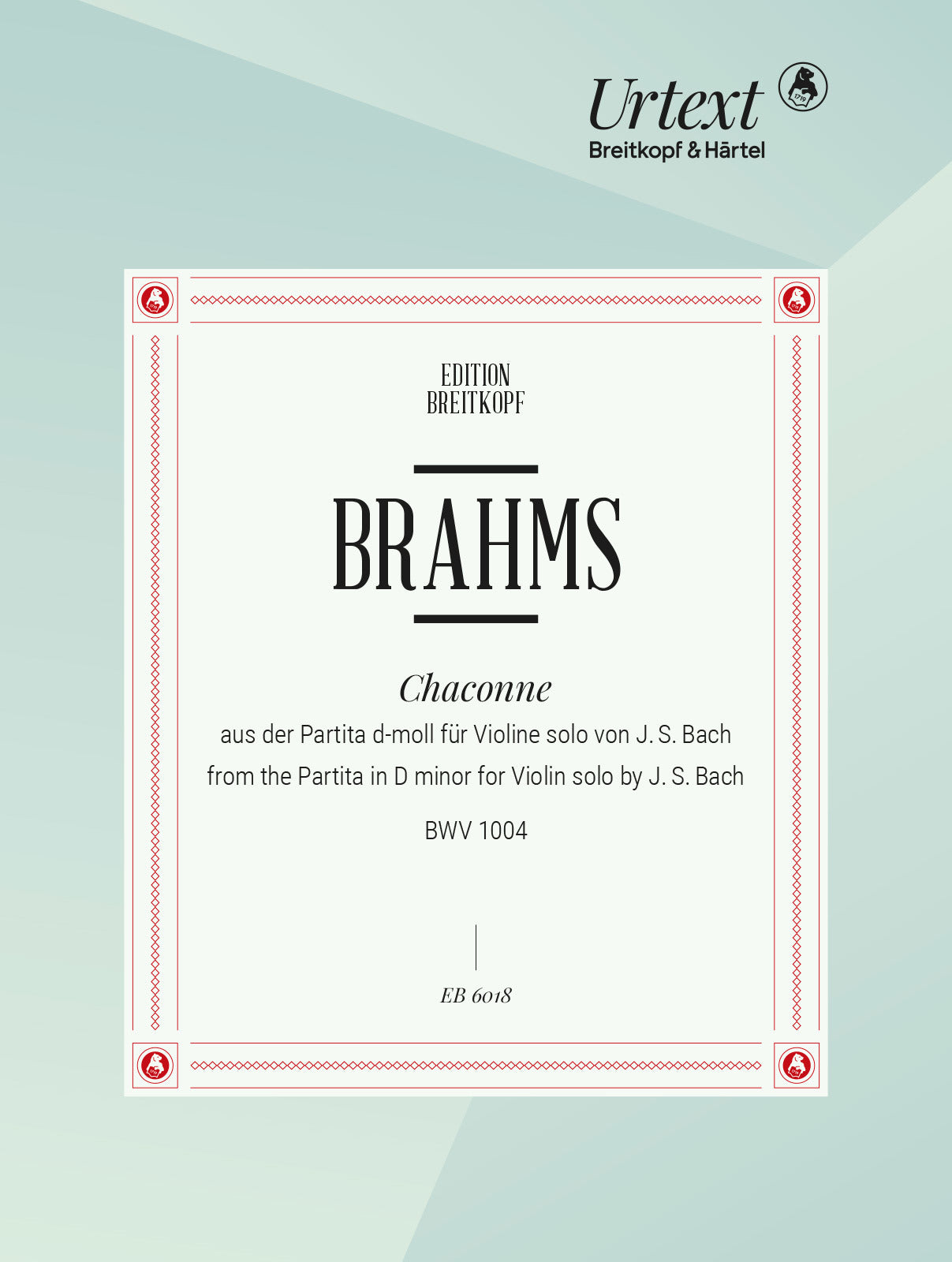 Brahms: Chaconne in D Minor for the Left Hand (after Bach's Partita, BWV 1004)
