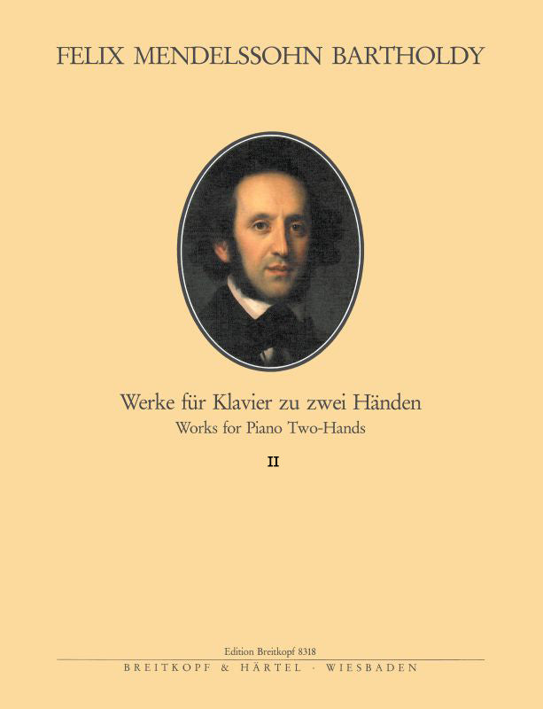 Mendelssohn: Complete Piano Works - Volume 2
