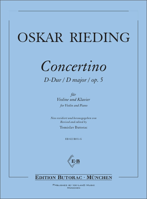 Rieding: Concertino in D Major, Op. 5