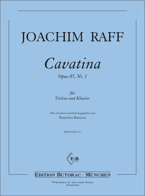Raff: Cavatina, Op. 85, No. 3