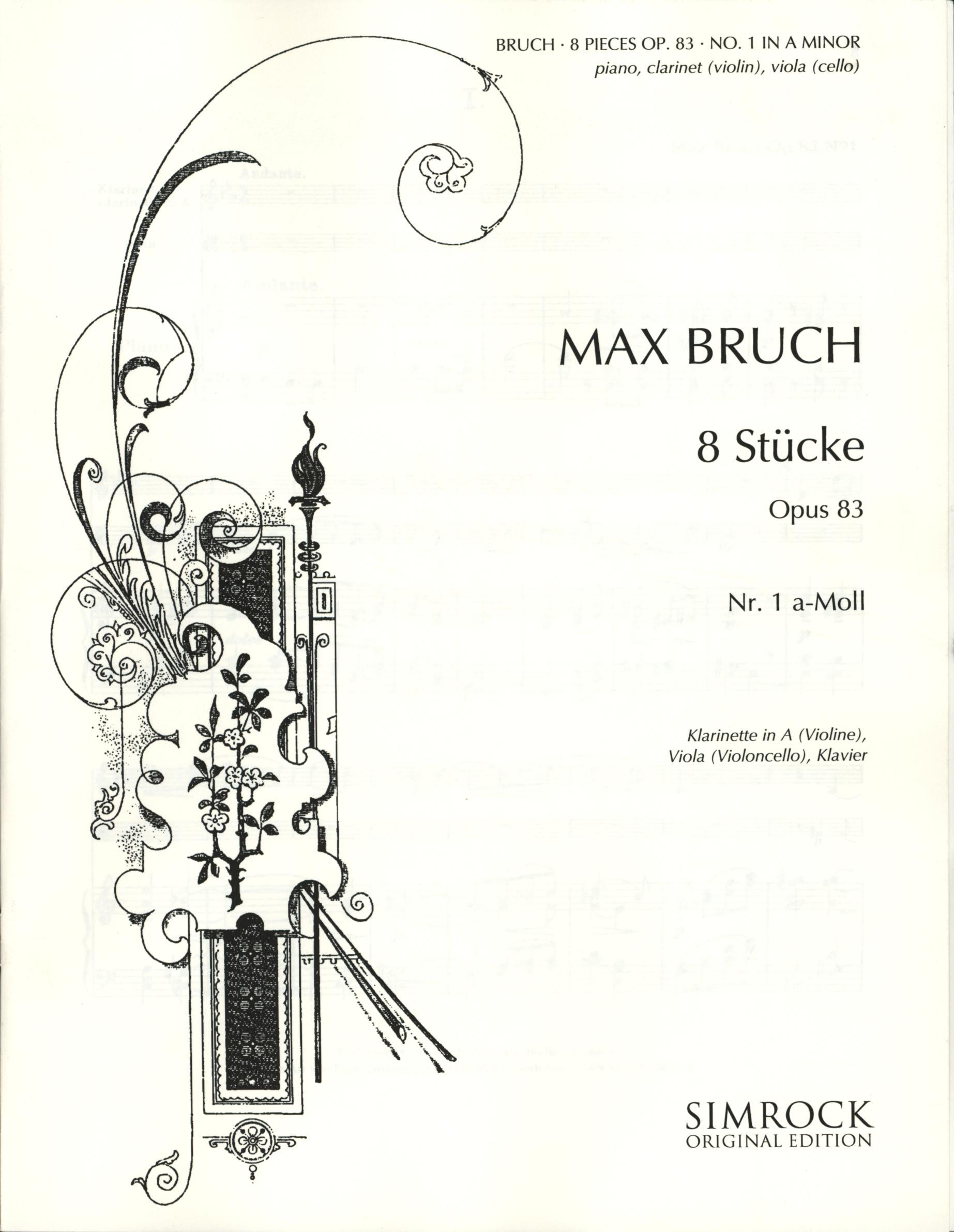 Bruch: Eight Pieces, Op. 83, No. 1