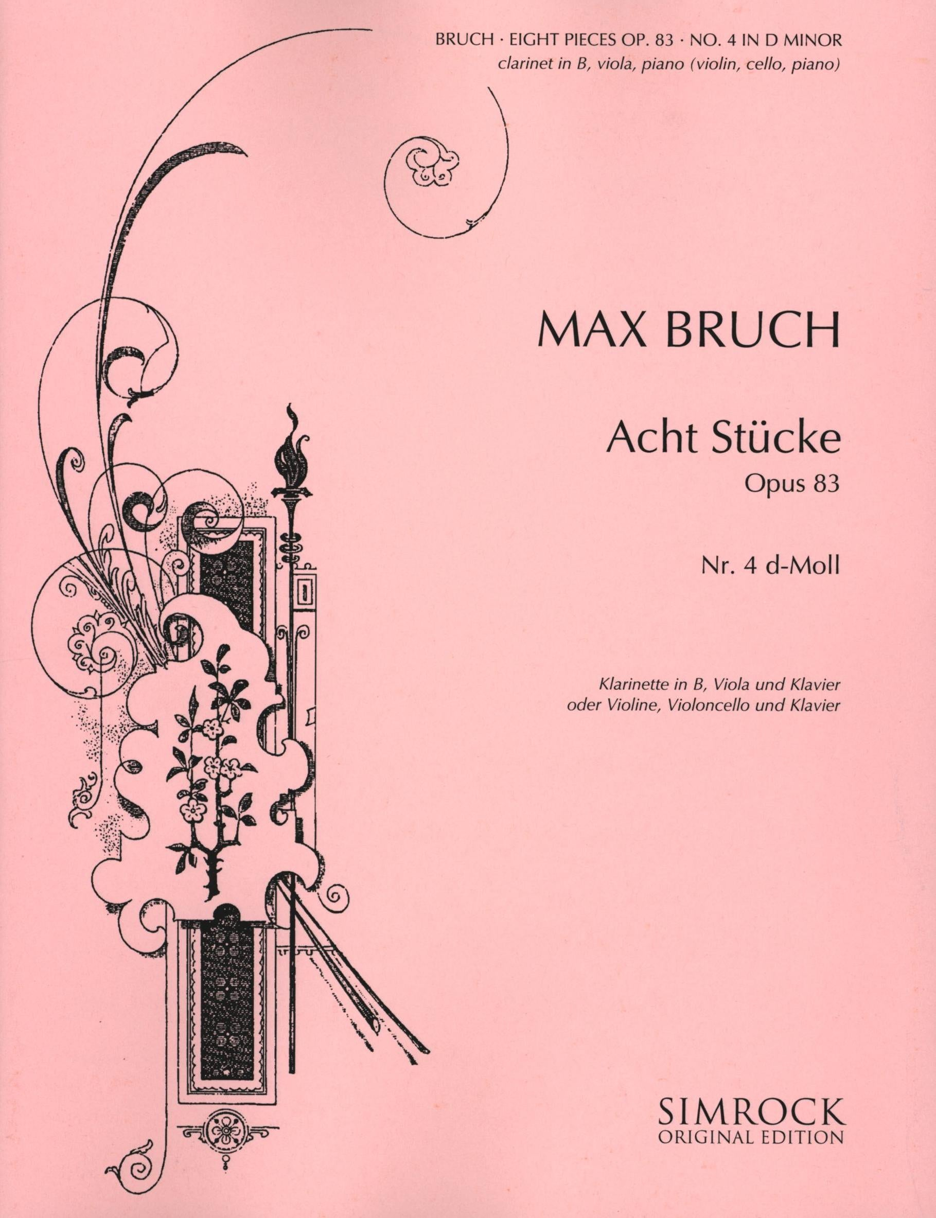 Bruch: Eight Pieces, Op. 83, No. 4