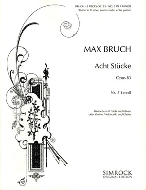 Bruch: Eight Pieces, Op. 83, No. 5