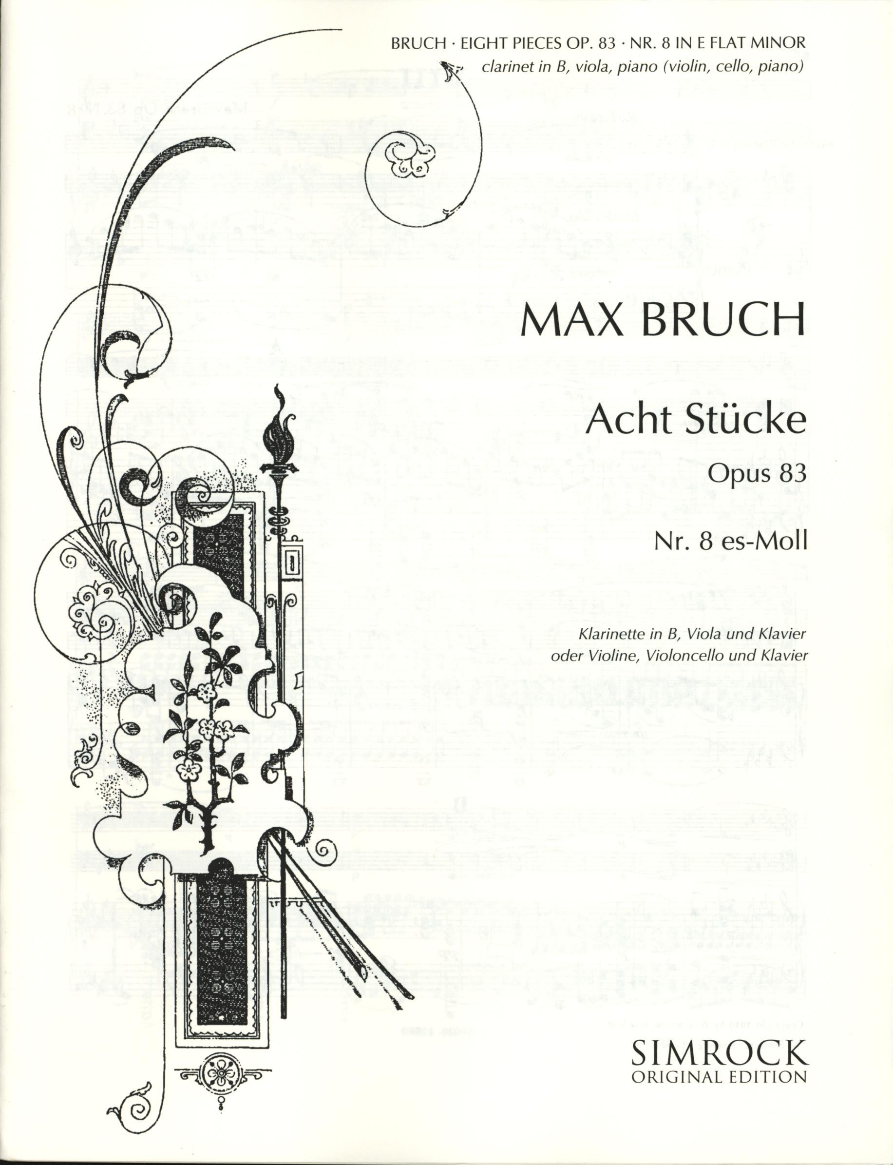Bruch: Eight Pieces, Op. 83, No. 8