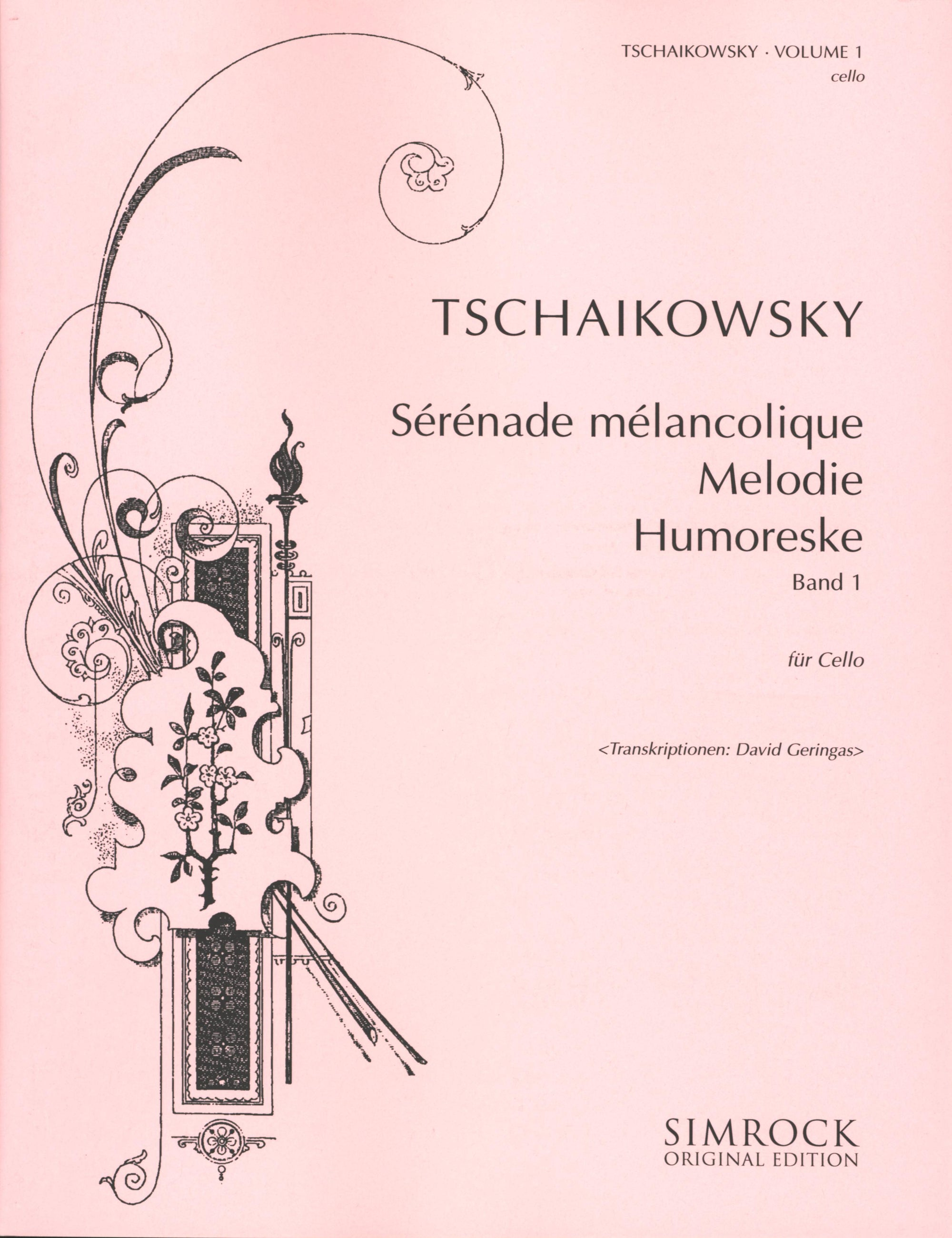 Tchaikovsky for Cello - Volume 1