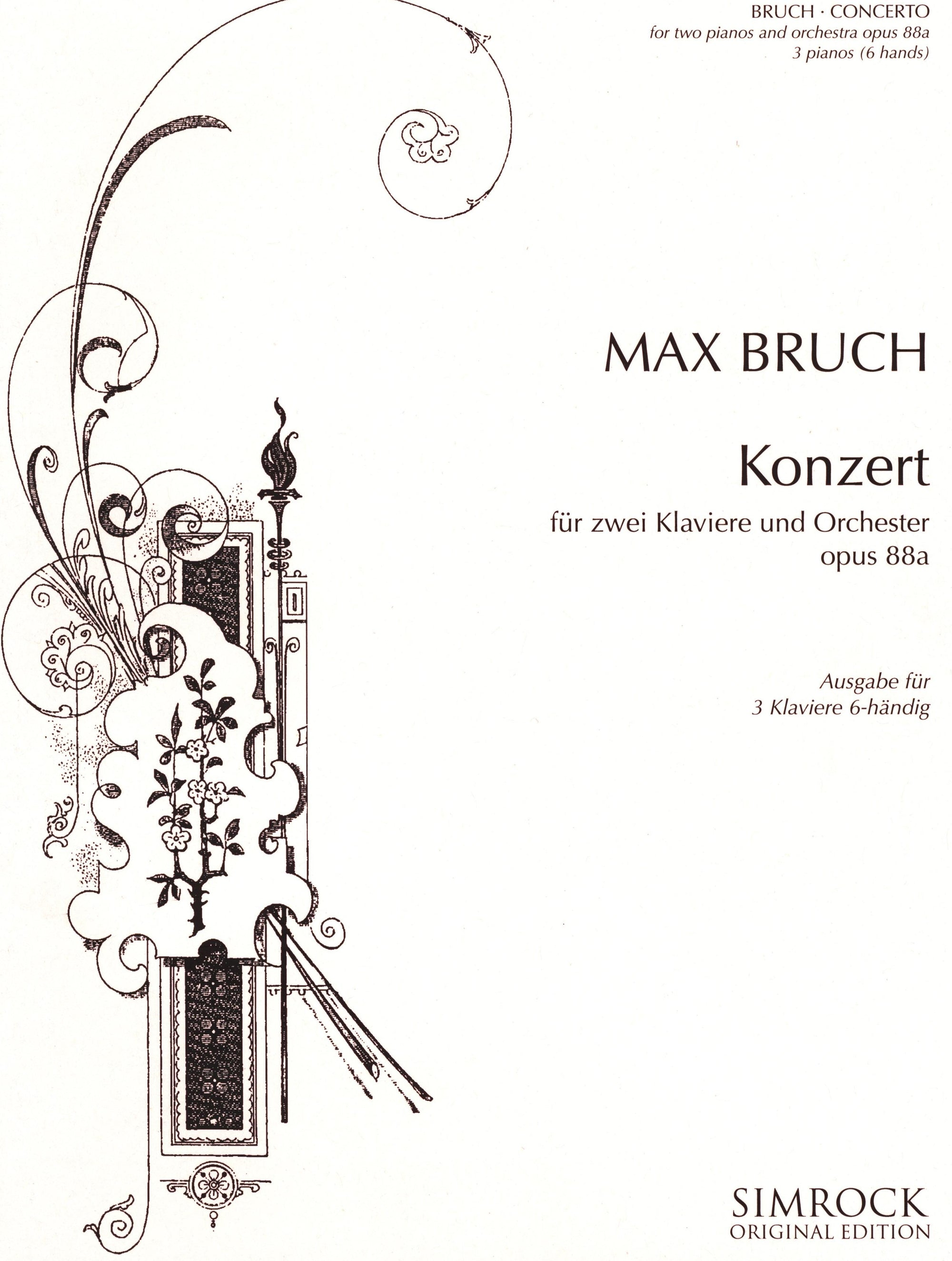 Bruch: Concerto for Two Pianos, Op. 88a