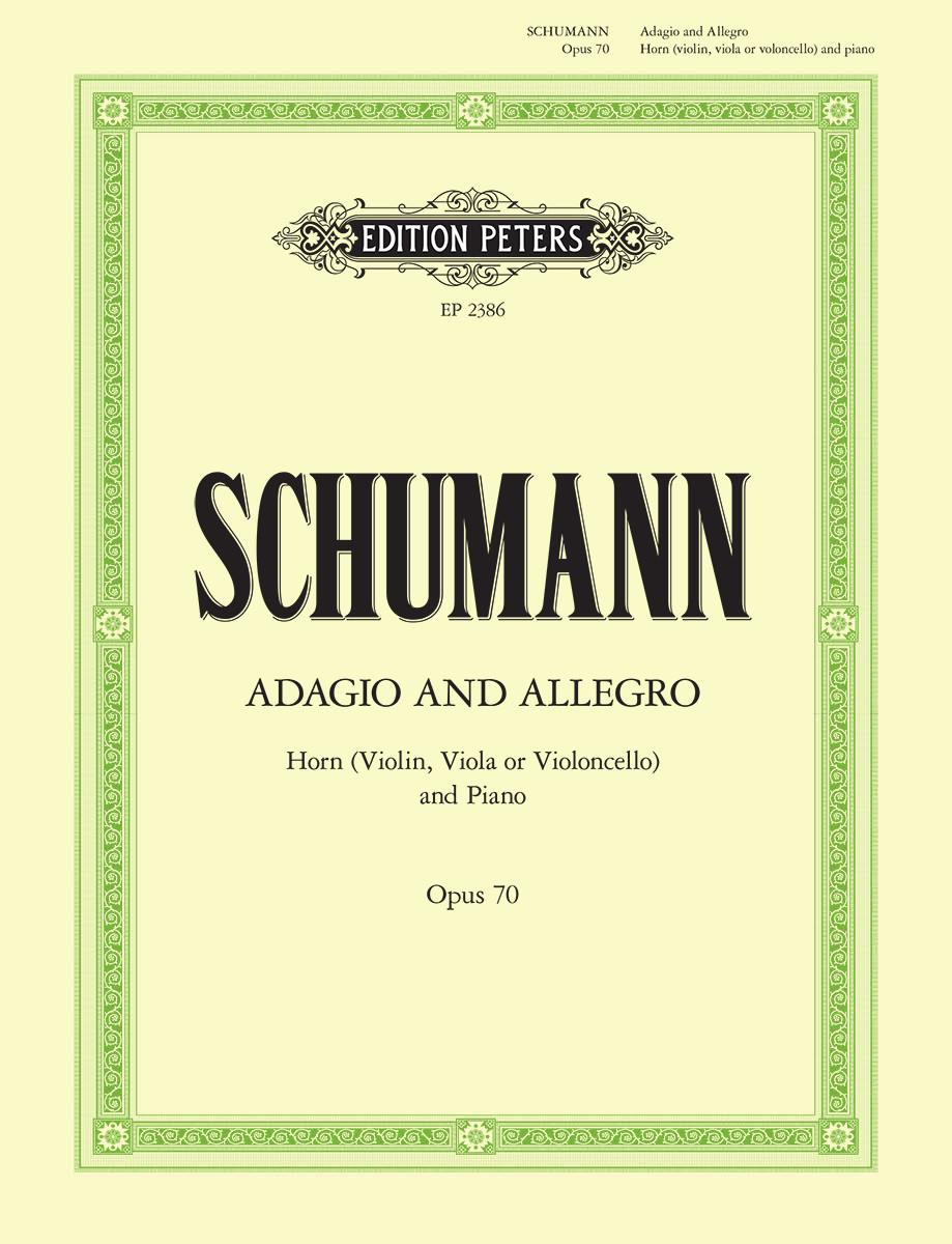 Schumann: Adagio and Allegro Op. 70