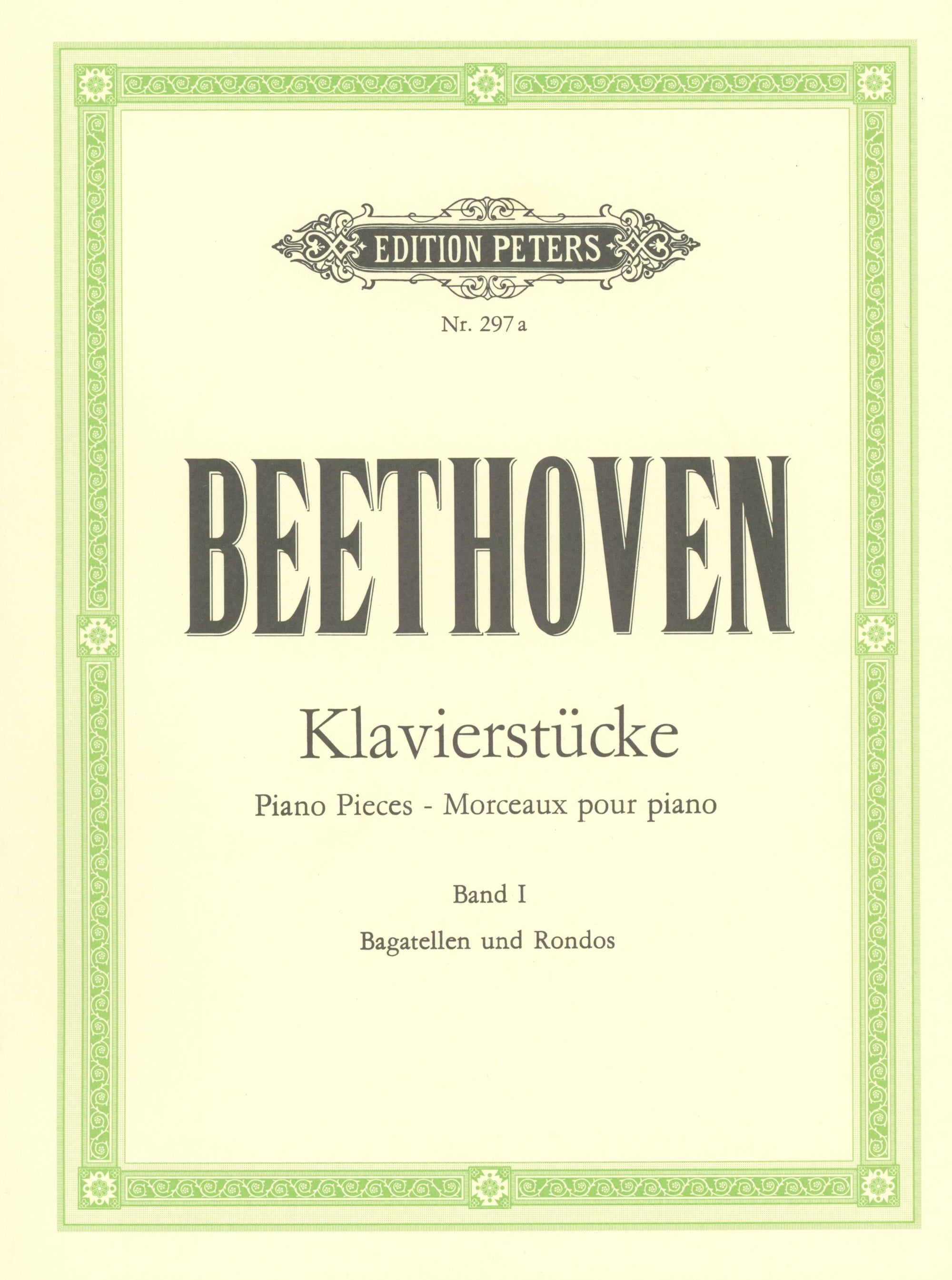 Beethoven: Bagatelles and Rondos