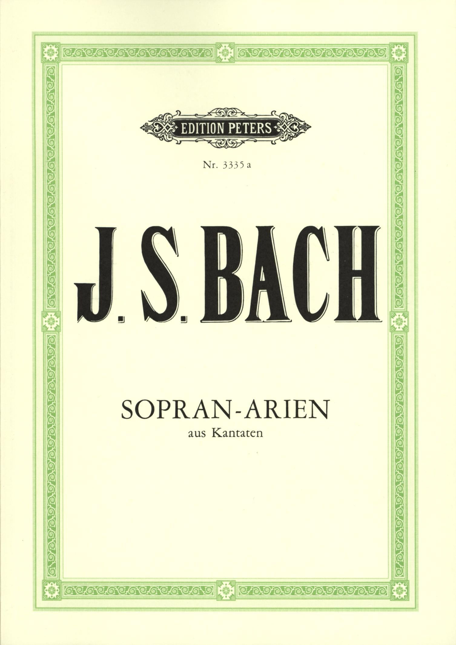 Bach: Soprano Arias from Cantatas