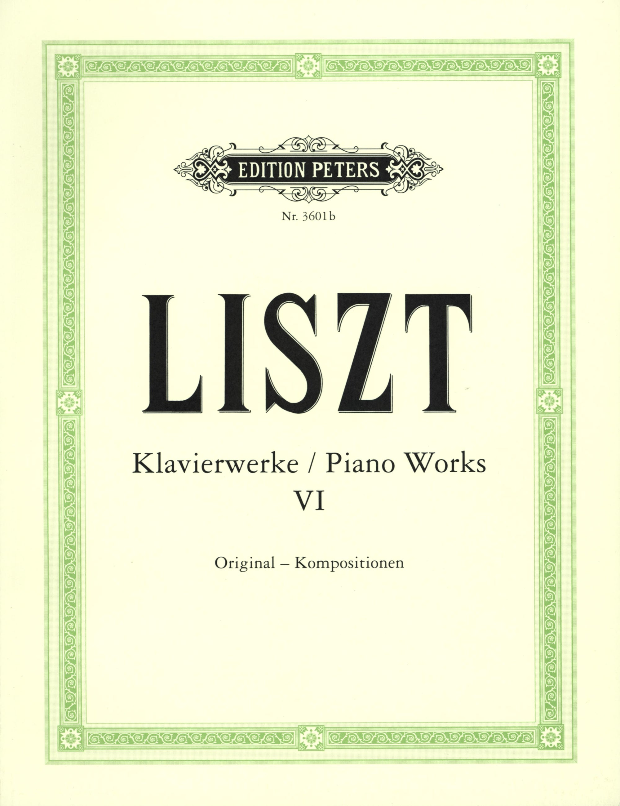 Liszt: Piano Works - Volume 6 (Original Works II)