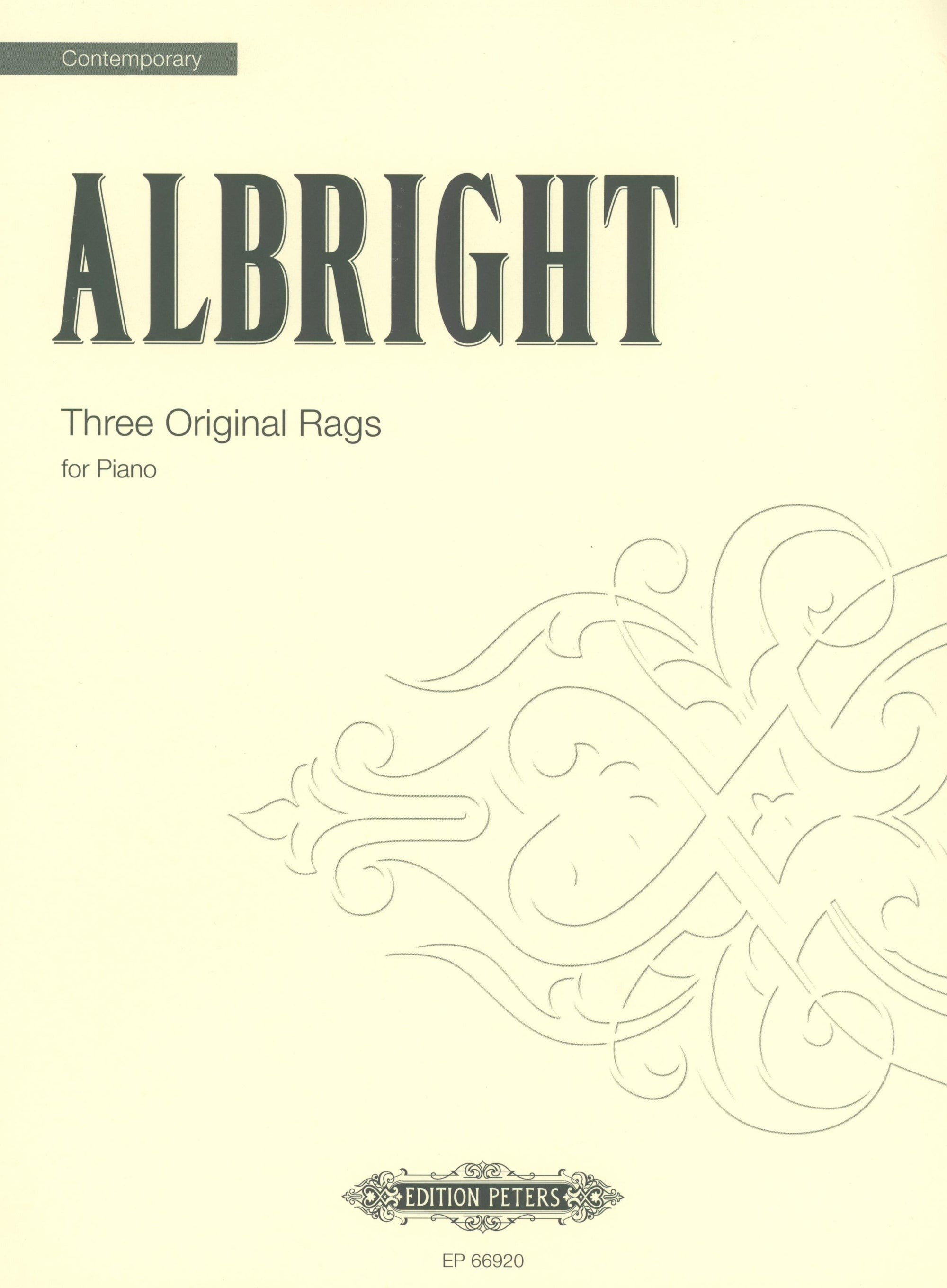 Albright: 3 Original Rags