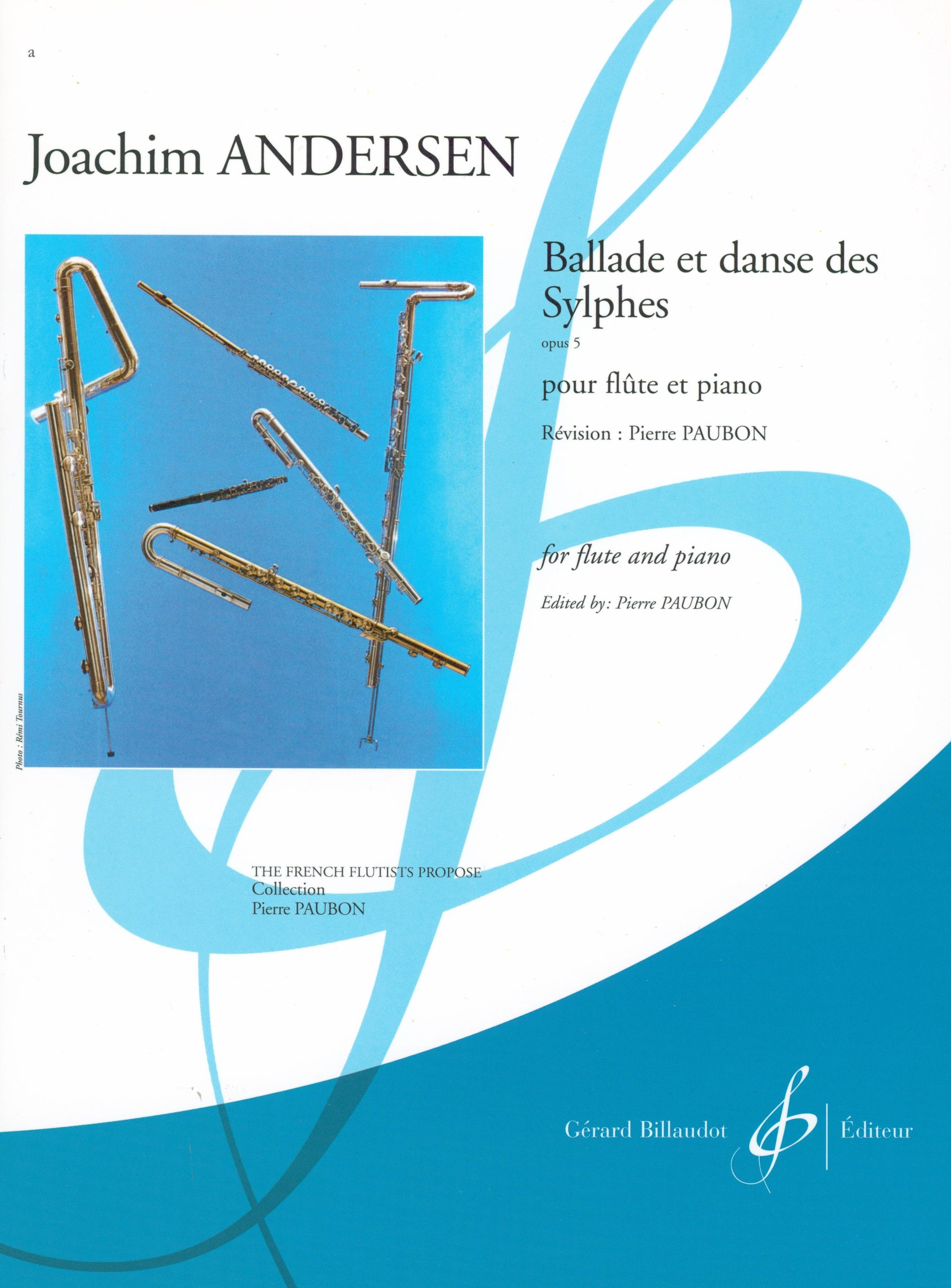 Andersen: Ballad and Dance of the Sylphs, Op. 5 (arr. for flute & piano)