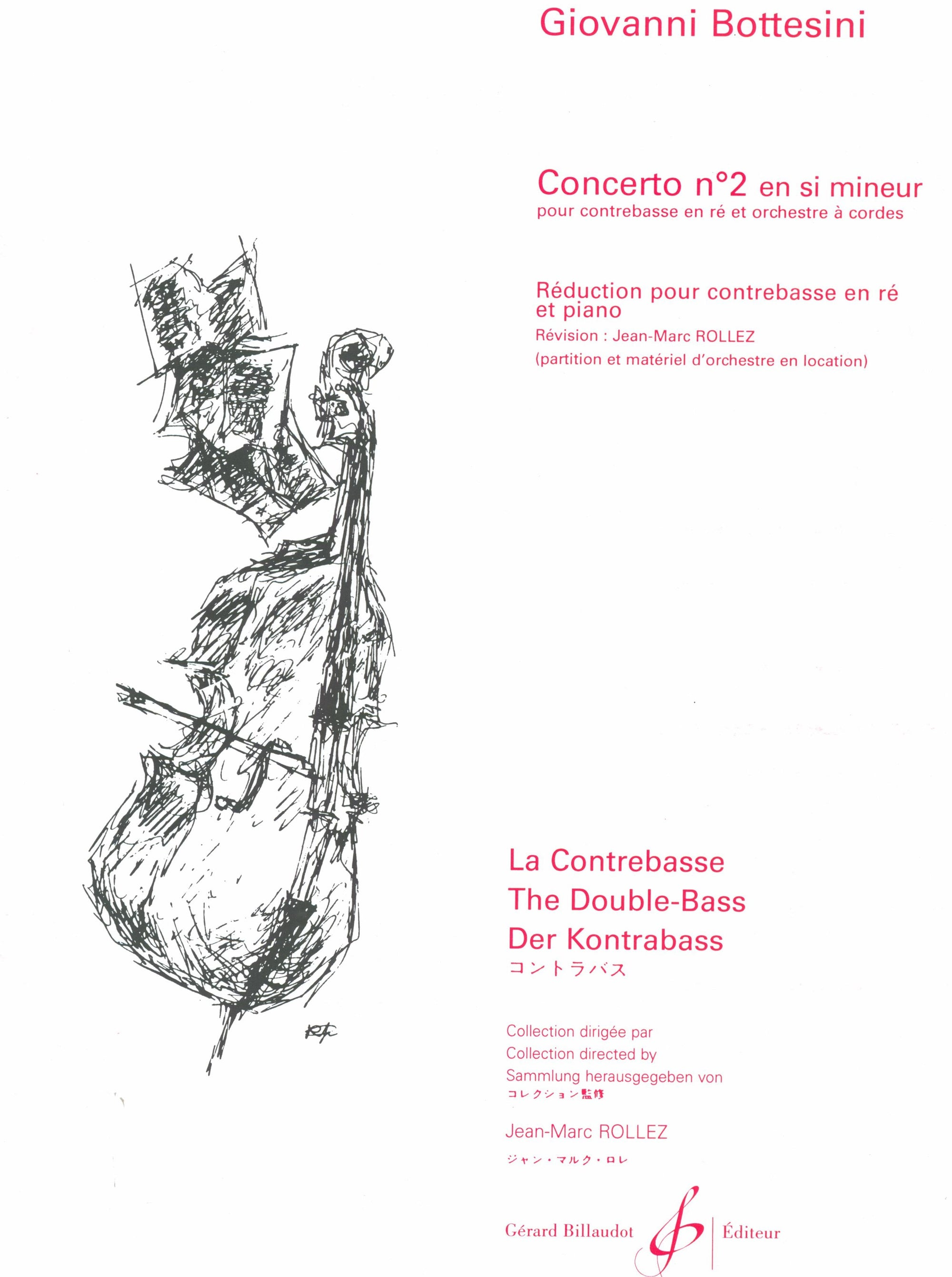 Bottesini: Double Bass Concerto No. 2 in B Minor