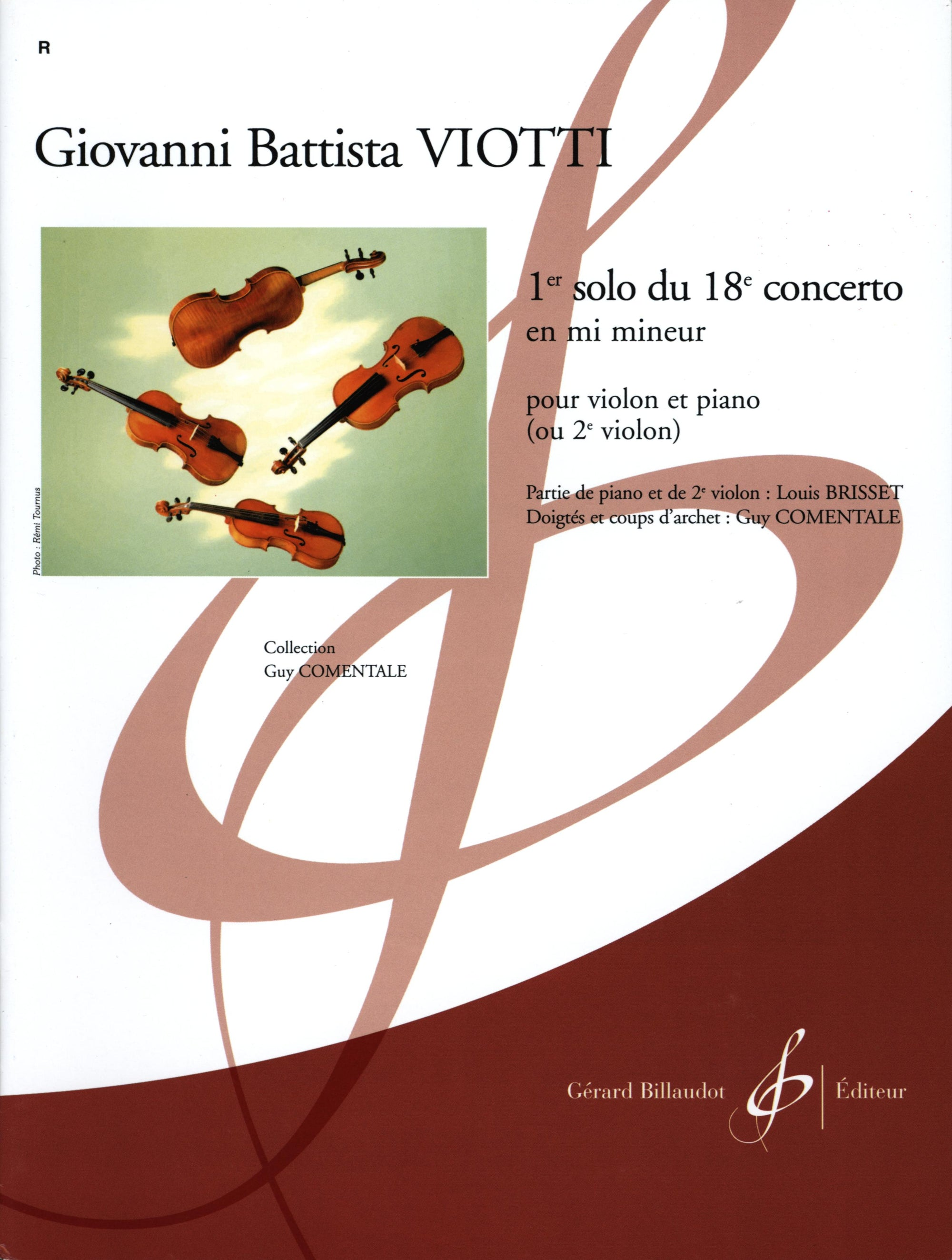 Viotti: 1st Solo from the 18th Violin Conceto in E Minor
