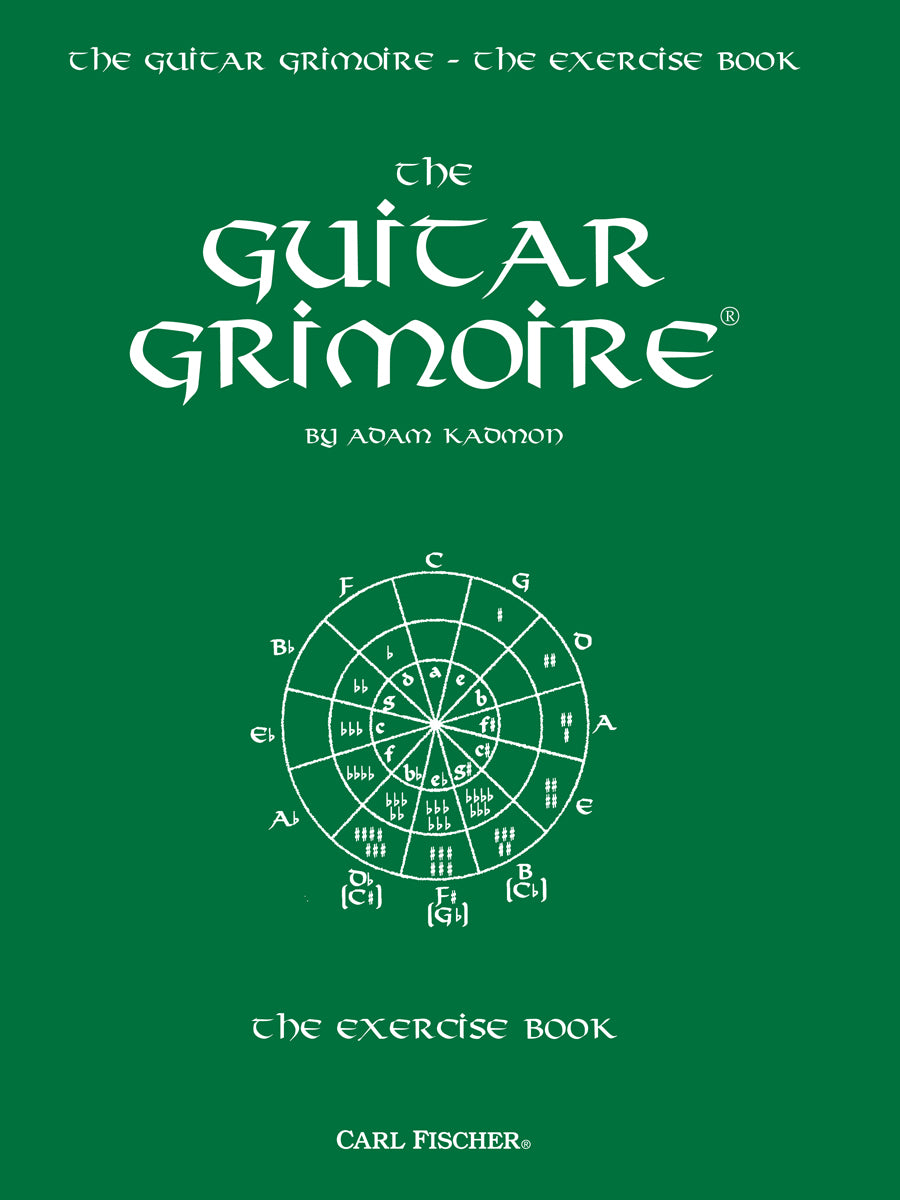 Kadmon: The Guitar Grimoire - The Exercise Book