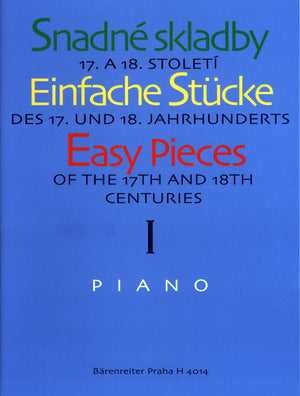 Easy Pieces of the 17th and 18th Centuries - Volume 1