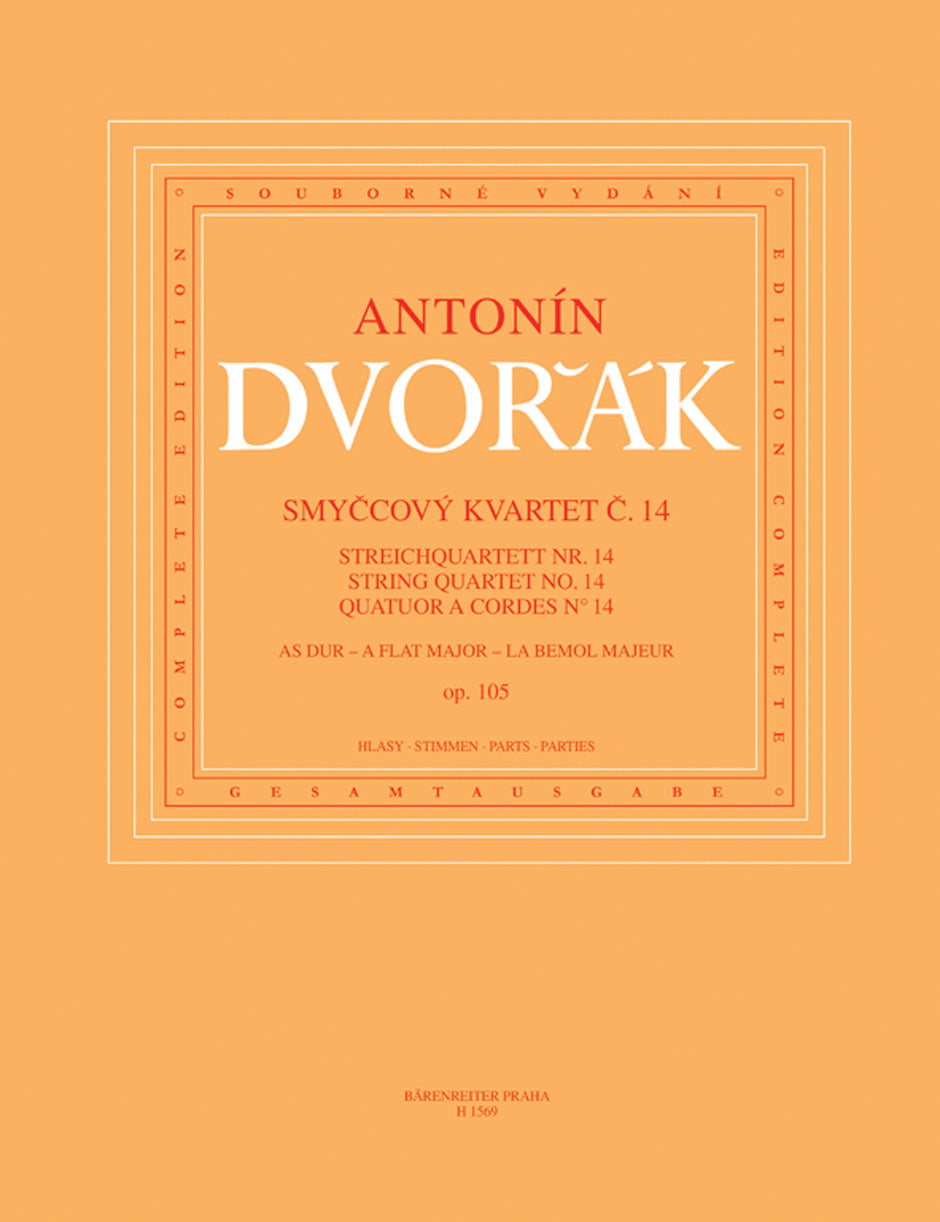 Dvořák: String Quartet No. 14 in A-flat Major, Op. 105