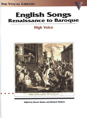 English Songs: Renaissance to Baroque