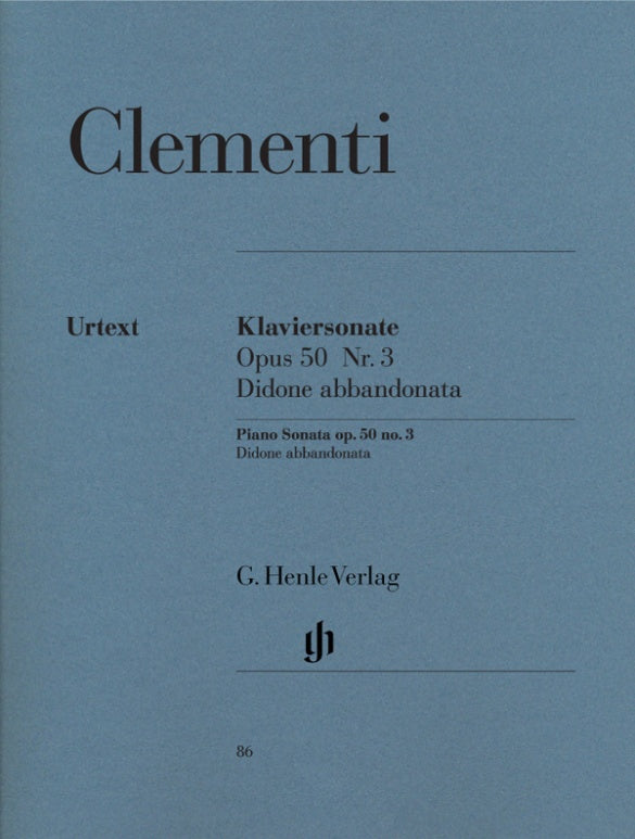 Clementi: Piano Sonata in G Minor, Op. 50, No. 3