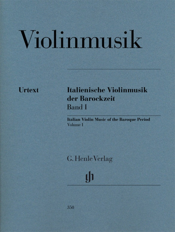 Italian Violin Music of the Baroque Era - Volume 1