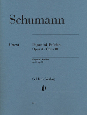 Schumann: Paganini Studies, Op. 3 and Op. 10