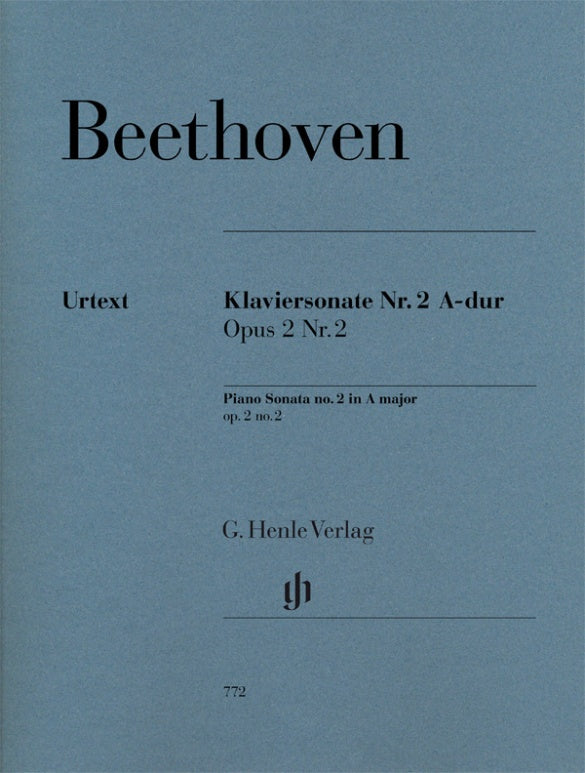 Beethoven: Piano Sonata No. 2 in A Major, Op. 2, No. 2