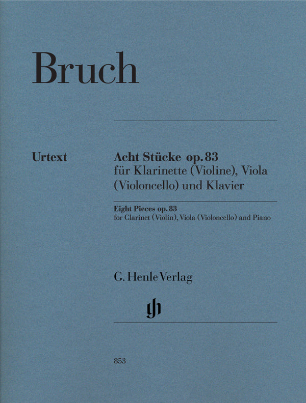 Bruch: Eight Pieces, Op. 83