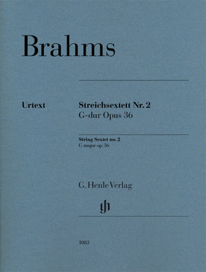 Brahms: String Sextet in G Major, Op. 36